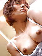 Slutty Japanese nurse sucks a hard cock in the office while working her shift