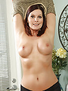 Refined MILF Magdalene from 30 plus Ladies doing some hot posing