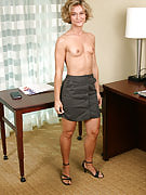 Golden-haired MILF Bianca Shows Us Her Wares After...