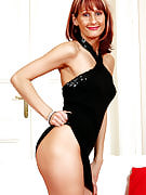 Elegant MILF Erica H strips off this girl evening gown and additionally shows her puss