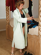 54 year old Judy styles great playing dressup inside series