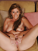 At just 42 years of age beautiful Amanda Jean's looking great in lingerie
