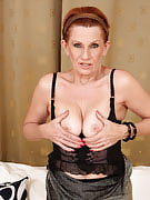58 year past times MILF Lucy cant get sufficient of the lady adult natural pussy