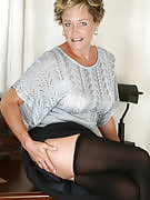 At 42 years old playful MILF Ariel after 30 plus Ladies exposes almost all