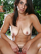 43 yr old Stacey from 30 plus Ladies exercising nude on a trampoline