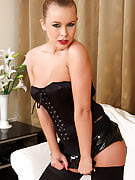 Horny 31 year older MILF Collette is begging for a spanking inside definitely one