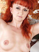 Purple lead MILF Trixi after 30 plus Ladies shows off this girl commonly hairy crotch