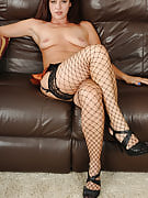 Horny 39 12 months old Xena poses in hot restricted fishnet stockings as part of right here