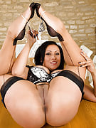 Hot 43 yr old Danica shows the tightest vagina in earth