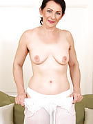 Hot 50 spring old Anna B from 30 plus Ladies showing off the lady furry pits