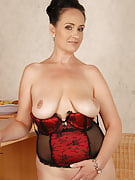 44 yr old Ria Black from 30 plus Ladies searching fantastic as part of her lingerie